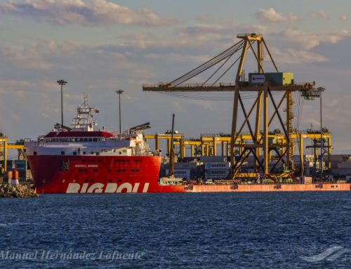 STS Crane Transport from Valencia to Cadiz